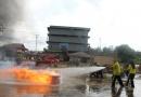 Sosialisasi dan Simulasi Pelatihan Penanganan Tanggap Darurat dan Kebakaran